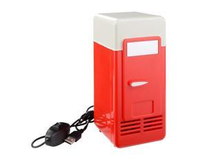 XCSOURCE®  Portable USB Powered Mini Fridge Cooler and Warmer Can Refrigerator Drink Can Cooling Car Kit Black HS610