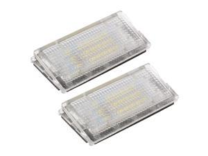 XCSOURCE®  2pcs License Plate 18 LED 3528 SMD Ultra Bright Error Free Light Lamp 12V for BMW E46 2D 1998-2003 MA539
