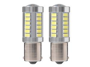 XCSOURCE®  2pcs Auto High Power 1156 10W 5630 SMD 33 LED Car DRL Driving Fog Light Bulb Turn Signal Lamp Super Bright MA530
