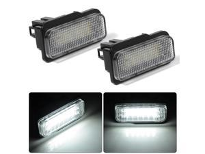 XCSOURCE®  2pcs License Plate 18 LED 3528 SMD Light for Mercedes Benz W203 / W211 / W219 / R171, E240 / E300 / C63 / E200 MA536