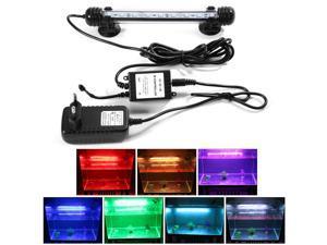 XCSOURCE®  Multi-color Remote Control RGB LED Underwater Submersible Aquarium LED Light Waterproof Fish Tank Lamp 18mm OS712