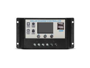 XCSOURCE®  10A Solar Controller LCD PWM Solar Panel Regulator Charge Controller Intelligent USB Port Display 12V-24V LD828