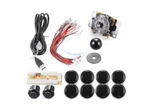 XCSOURCE®  Zero Delay Arcade Game USB Encoder PC Joystick DIY Kit for Mame Jamma & Other PC Fighting Games AC426