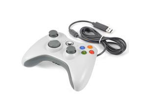 XCSOURCE®  White Wired Game Controller Gamepad Joystick for Xbox 360 AC480