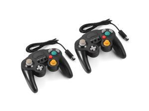 XCSOURCE®  2pcs Wired Game Controller Gamepad Joystick for Nintendo Wii (Black) AC479
