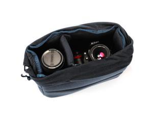 XCSOURCE® XCSOURCE Insert Padded Camera Bag DSLR Lens Inner Divider Partition Protect Case Pouch Black LF677