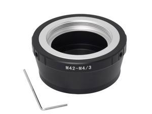XCSOURCE® Lens Adapter for M42 lens to Panasonic G1 G2 G3 GH1 GH2 M4/3 GF1 GF2 GF3 Micro 4/3 DC153