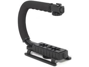 XCSOURCE® Super Grip Camcorder Stabilizing Video Handle BLACK for Canon Nikon Pentax LF103