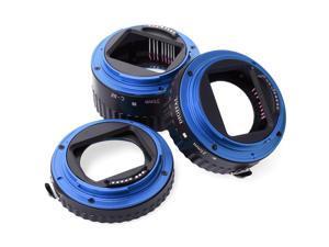 XCSOURCE® Macro AF Auto Focus Extension Tube Set 13mm 21mm 31mm for Canon DSLR SLR DC466