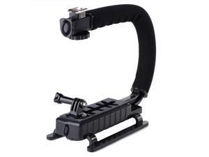 XCSOURCE® C Shape Flash Bracket Stand Grip for GoPro 3 3+ DSLR Camera Camcorder DV LF624