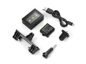 XCSOURCE®  Mini Portable LED Flash Spot Fill Light Lamp Kit Frame for GoPro Hero 4 3+ 3 Waterproof Camera Underwater OS761