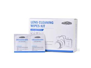 Rangers® Rangers 100pcs Pre-Moistened Lens Cleaning Wipes for Camera Lenses, Glasses, and Other Precision Optical Lenses RA102
