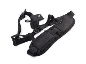 XCSOURCE® Quick Rapid Camera Single Shoulder Sling Black Belt Strap for SLR DSLR LF309