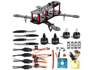 XCSOURCE® XCSOURCE 4-Axis 250 3K Carbon Fiber FPV Quadcopter Kit Combo CC3D Motor 12A ESC RC005