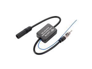 XCSOURCE®  Car Antenna Radio Amplifier Car Inline Antenna Aerial Radio AM/FM Signal Amp Amplifier Booster 48-860MHz MA799