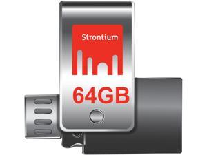 Strontium Nitro Plus 64GB ON-THE-GO (OTG) USB 3.0 Drive R130 W100