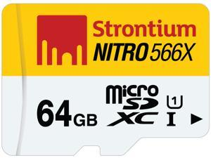 Strontium Nitro 566X 64GB MicroSDHC UHS-1 Memory Card