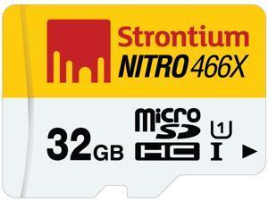 Strontium Nitro 466X 32GB MicroSDHC UHS-1 Memory Card