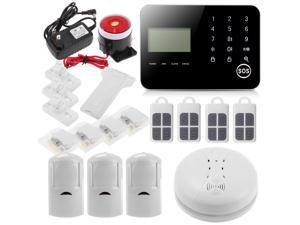 IOS/Android APP GSM SMS Wireless DIY Intelligent Home Security Burglar Alarm System