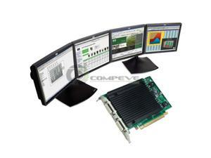 Nvidia Quadro NVS 440 256MB PCIe x16 Quad Graphics Video Card  4 Monitor support