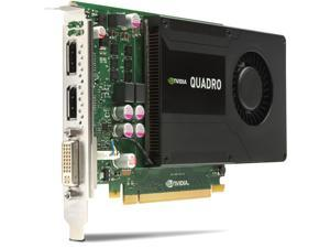 NVIDIA Quadro K2000 2GB / PC-e / DL-DVI, VGA / GDDR5/ Video Graphics Card