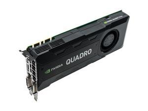 Nvidia Quadro K5200 8GB GDDR5 PCIe x16 Dual DVI/DP GPU Video Graphics Card