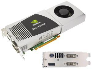 NVIDIA Quadro  FX5800 PCI-EXPRESS 2.0 X16  4GB GDDR3  Graphics Card