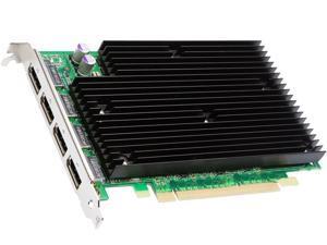 NVIDIA QUADRO NVS 450 PCIE VIDEO CARD NVS450 512MB 4 MONITORS