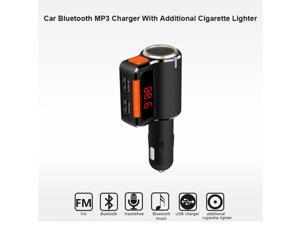 BC09 Bluetooth car kit FM Transmitter Car MP3 Player  FM Transmitter W/LED Display Dual USB Car Charger