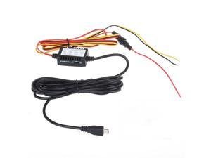 12v to 5v hard wire adapter cable Micro USB Jack 1M Input And 3M Output Cable With Mini USB/Micro USB Plug for Mini USB/Micro USB Plug Car Dash Camera 0903 DVR Parking model Parking Power switch
