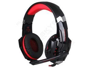 EACH G9000 Surround 3.5mm USB Stereo Gaming Headset Headphone For PS4 PC Laptop ( Red Black )