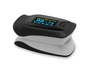 MeasuPro OX200 Instant Read Digital Pulse Oximeter with Carry Case and Lanyard
