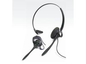 Plantronics 45273-01 H141N DuoSet Convertible Headset - Noise Canceling - Monaural - Wired