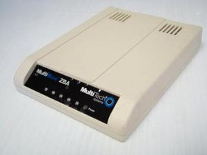 MultiTech MT9234ZBA-USB-AV Data/Fax World Modem V.92 93537152LF