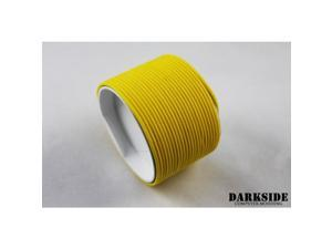 """Darkside 2mm (5/64"""") High Density Cable Sleeving - Yellow II (DS-0427)"""