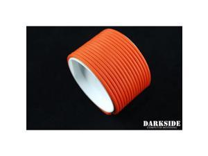 "Darkside 4mm (5/32"") High Density Cable Sleeving - Orange II (DS-0452)"