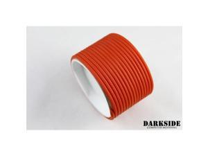 "Darkside 2mm (5/64"") High Density Cable Sleeving - Orange II (DS-0451)"