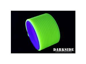"Darkside 4mm (5/32"") High Density Cable Sleeving - UV Acid Yellow (DS-0065)"