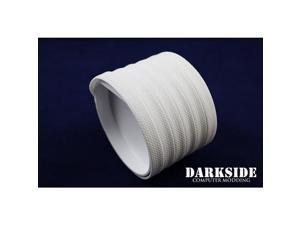 """DarkSide 10mm (3/8"""") High Density SATA Cable Sleeving - White (DS-0116)"""