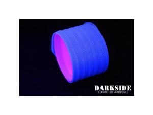 "DarkSide 10mm (3/8"") High Density SATA Cable Sleeving - Dark Blue UV (DS-0111)"