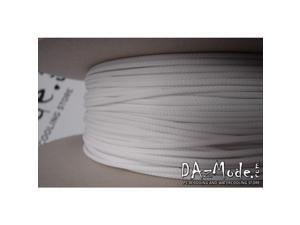 """Darkside 6mm (1/4"""") High Density Cable Sleeving - White (DS-0255)"""