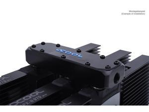 Alphacool GPX SLI Connector - Triple Asymetric Plexi (12477)