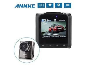 ANNKE X4 1080P HD Camera Car DVR Video Recorder with High Resolution Full HD 1080P 30 FPS G-sensor Car License Plate H.264 170 Degree Wide Angle View Support HDMI/TV Out Night Vision CCTV Camera