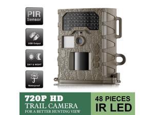 Annke C301 720P Digital Game Cam Trail Camera (IP56 Waterproof Hunting Wildlife Monitoring Camera with 48 pcs of no-glow IR 940nm LED, No SD card)