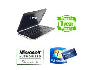 """Dell E5420 Laptop i5 2430m 2.4Ghz, 4G DDR3, 320G, DVDRW, 14""""W, Windows 7 Home 64 bits Genuine License, Intel 3000 video card, HDMI, AC adapter and New battery, 1 Year Warranty"""