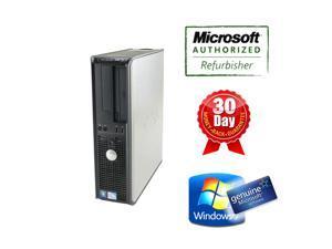 Dell Desktop Computer DT 380 Pentium D 2.6Ghz, 4G DDR3, 250G HDD, DVD, Windows 7 Home 64 Bits, Power Cord