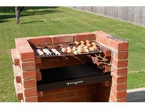 Black Knight Barbecue BKB400 Grill BBQ Kit With Stainless Steel Cooking Grid