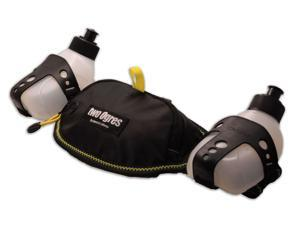 two Ogres Running Hydration Belt with Two 10oz BPA Free Leak Proof Bottles, Pouch Fits iPhone 6s Plus