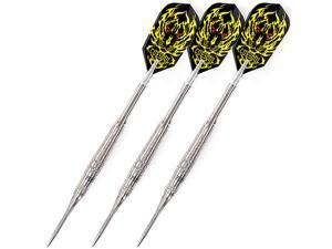 CUESOUL C1001 MARS Series 18 Gram 95% Tungsten Conversation Steel Tips Darts,Tungsten Darts With Dart Sharpener and Dart Tool