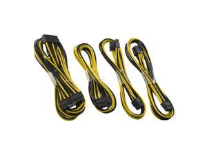 CableMod C-Series ModFlex Basic Cable Kit for Corsair  RMi & RMx - Black / Yellow